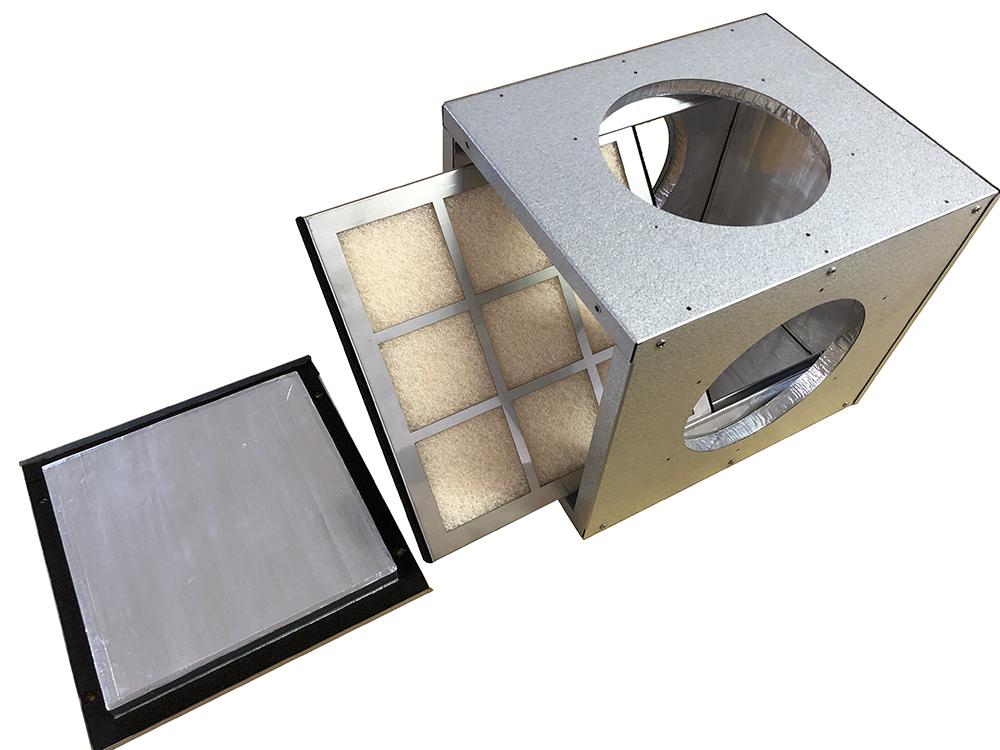 フィルターボックスの構造
