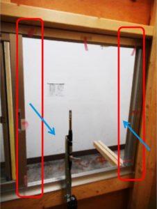 窓周りの複雑な空気の動き