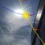 ARによる太陽の位置
