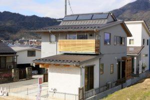川内モデルハウス集熱パネル